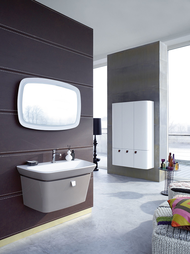 ensemble vasque et meuble sous lavabo avec clairage led int gr d co id es. Black Bedroom Furniture Sets. Home Design Ideas