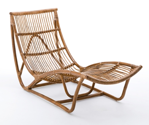 Rotin 3 d co id es - Chaise longue en rotin ...