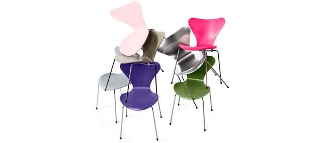 chaise 3107 d 39 arne jacobsen d co id es. Black Bedroom Furniture Sets. Home Design Ideas