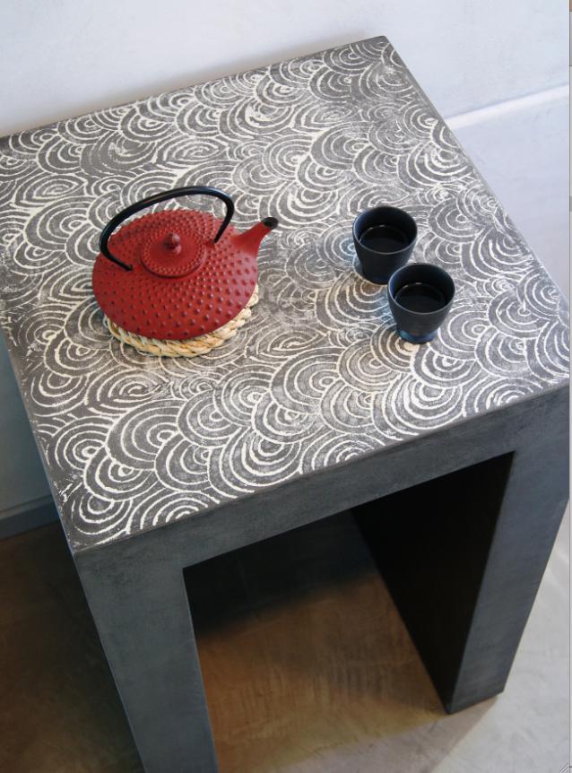 zoom sur le mortex et le bealstone d co id es. Black Bedroom Furniture Sets. Home Design Ideas