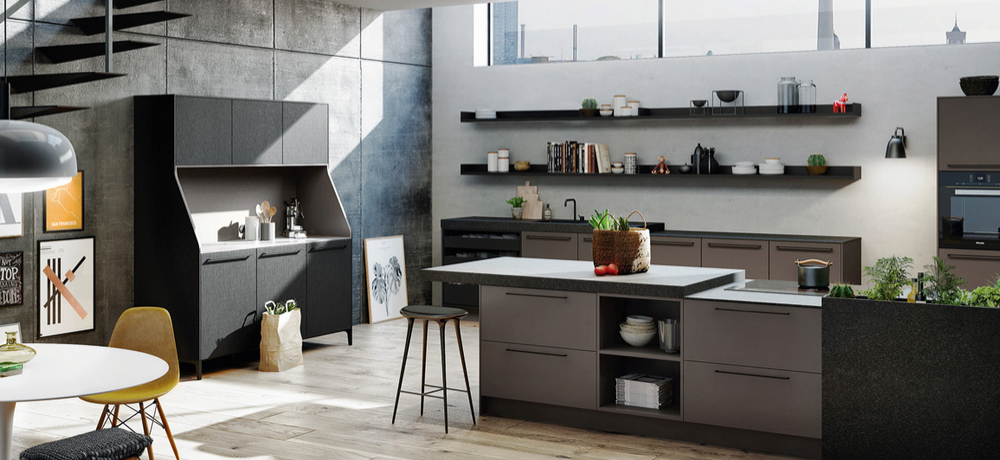 1er buffet de cuisine r dit pour le nouveau style urban. Black Bedroom Furniture Sets. Home Design Ideas