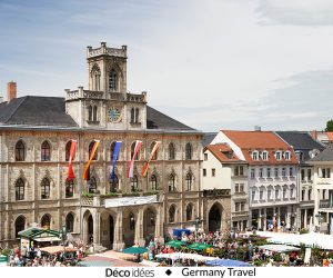 3 raisons de découvrir la ville culturelle de Weimar