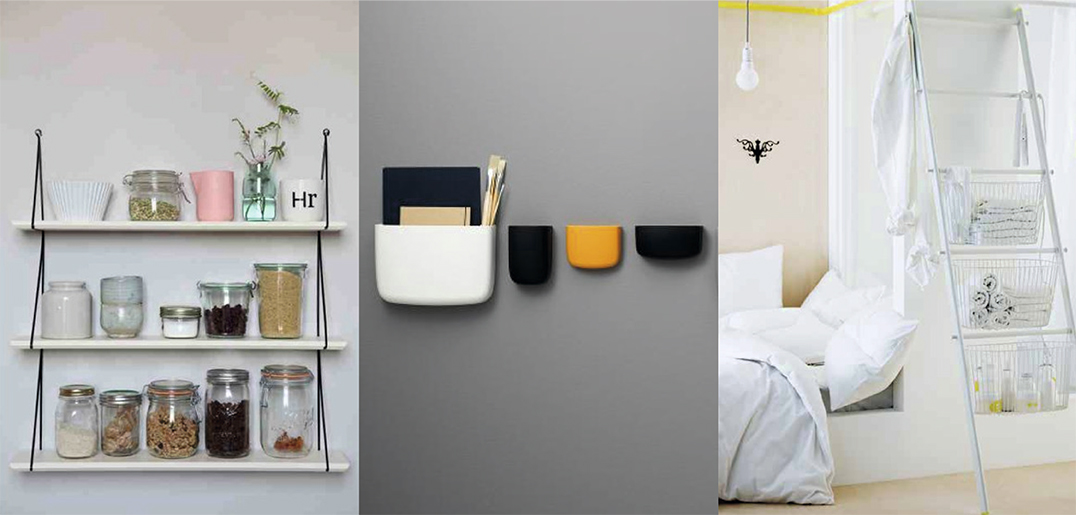 Rangements muraux d co id es - Une solution innovante pour gagner de la place dans sa cuisine ...