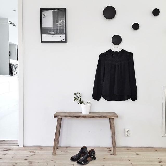 1 d co id es - Comment fabriquer un porte manteau mural ...
