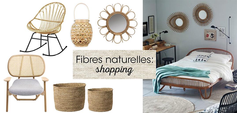 fibres naturelles shopping d co id es. Black Bedroom Furniture Sets. Home Design Ideas