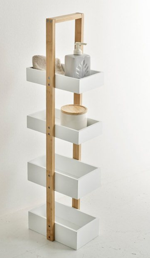 11 accessoires pour salles de bain d co id es - Etagere murale pour douche ...