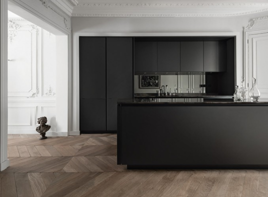 portrait d une cuisine parisienne by siematic d co id es. Black Bedroom Furniture Sets. Home Design Ideas