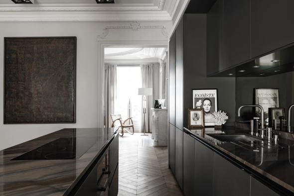 Portrait d une cuisine parisienne by siematic d co id es for Cuisine de luxe design
