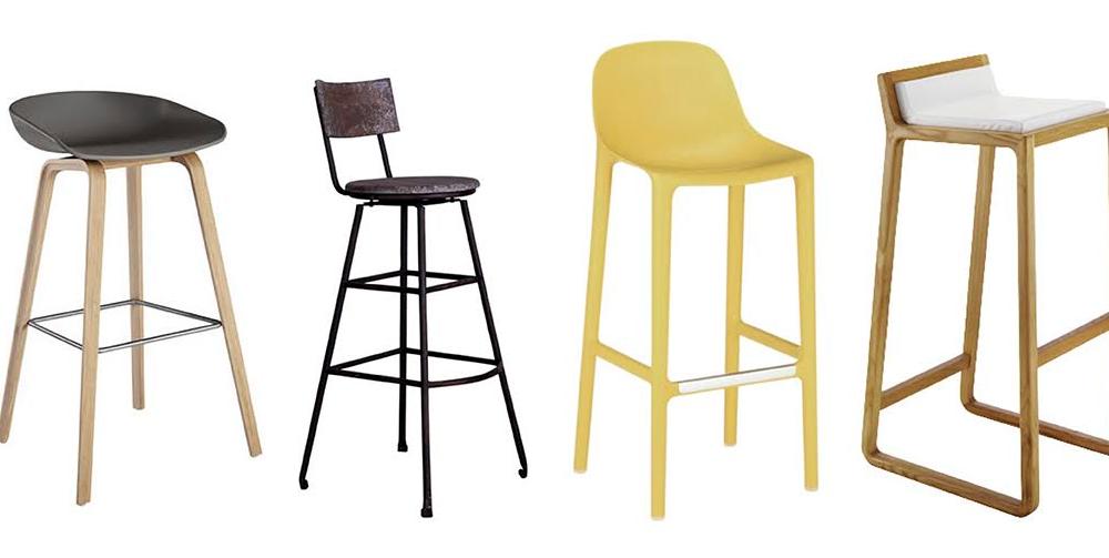 12 tabourets de bar tendance d co id es. Black Bedroom Furniture Sets. Home Design Ideas