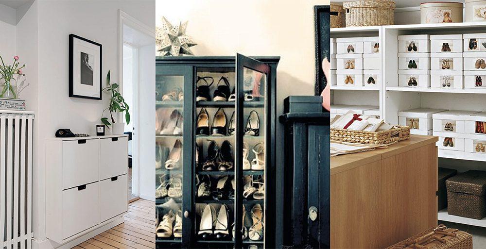 11 Idées De Rangement Pour Chaussures