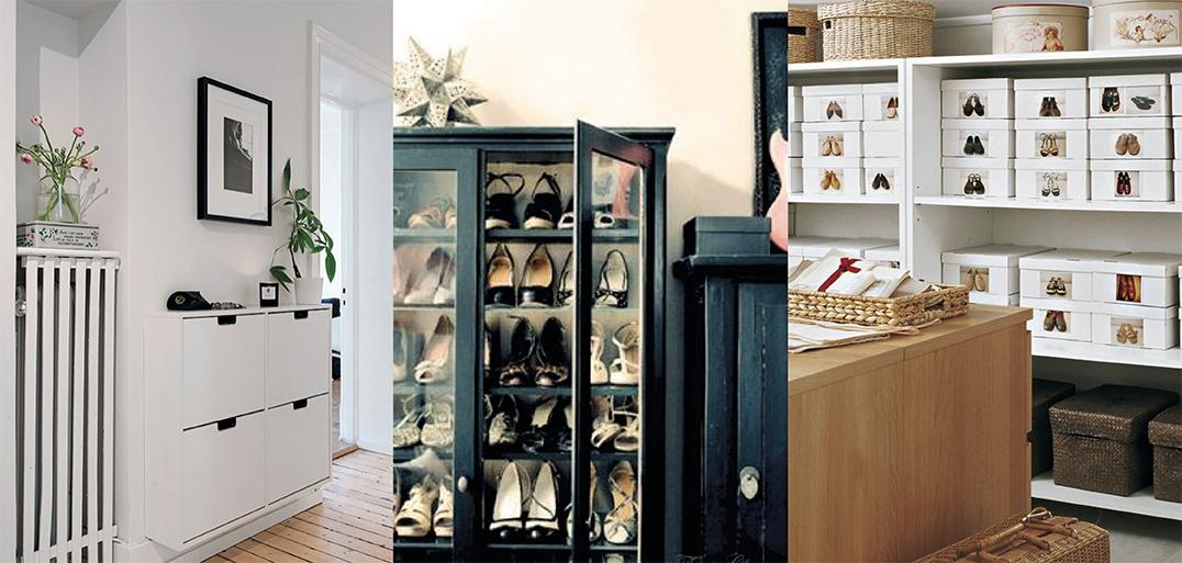 11 id es de rangement pour chaussures d co id es for Idee rangement chaussures entree
