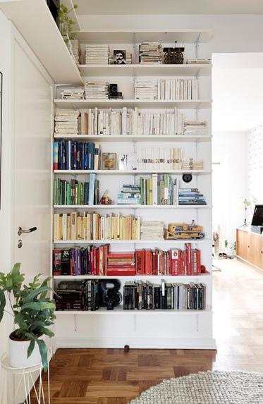 livres 8 id es d co pour bien les ranger d co id es. Black Bedroom Furniture Sets. Home Design Ideas