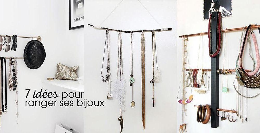 7 id es pour ranger ses bijoux d co id es. Black Bedroom Furniture Sets. Home Design Ideas