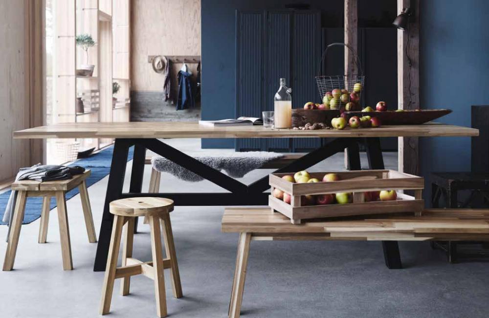 La collection Skogsta de Ikea