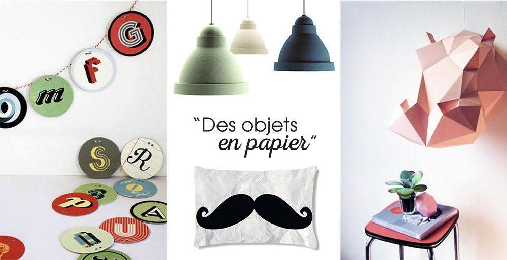 de beaux objets en papier d co id es. Black Bedroom Furniture Sets. Home Design Ideas