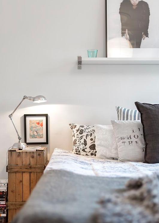 des tables de chevet personnalis es d co id es. Black Bedroom Furniture Sets. Home Design Ideas