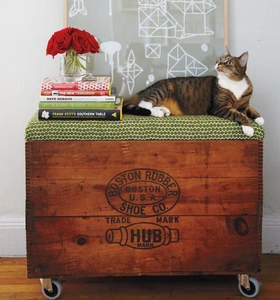 ces coffres et valises qui font la d co d co id es. Black Bedroom Furniture Sets. Home Design Ideas