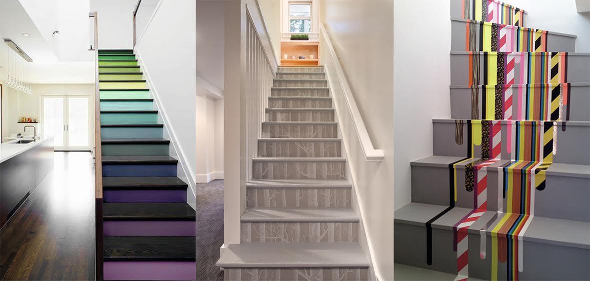 Des escaliers stylis s d co id es - Escalier en bois occasion ...