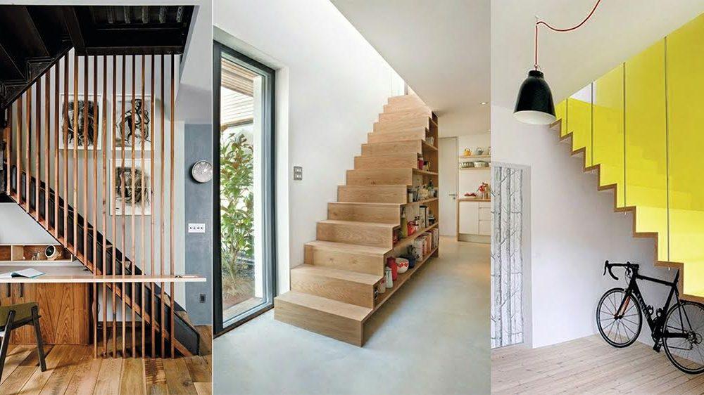 Optimisez l'espace sous les escaliers