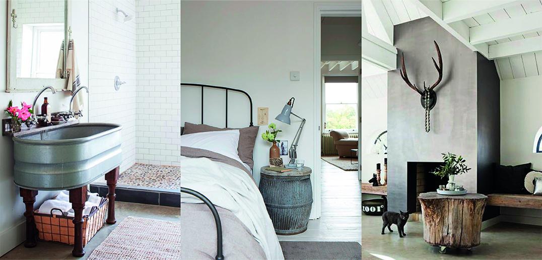 une note de rustique chic d co id es. Black Bedroom Furniture Sets. Home Design Ideas