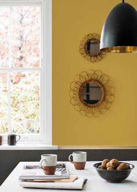 ocre et dor les objets brillent de mille feux d co id es. Black Bedroom Furniture Sets. Home Design Ideas