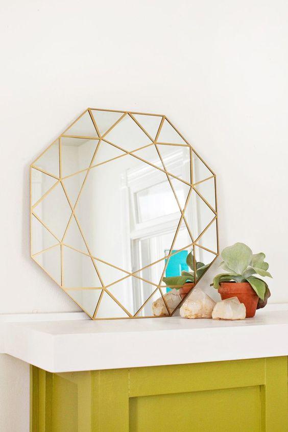 Relooker sa d co int rieure des diy faciles et pas chers for Decouper un miroir