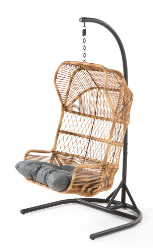Des accessoires pour d corer jardins et balcons d co id es - Fauteuil suspendu habitat ...