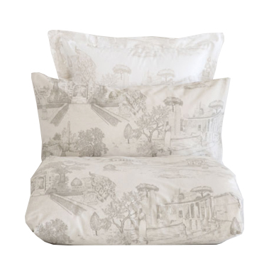 linge de lit toile de jouy tapis toile de jouy with linge. Black Bedroom Furniture Sets. Home Design Ideas
