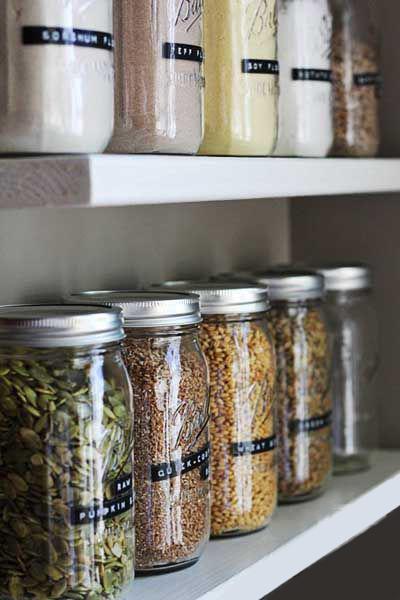 DIY budget: des rangements pour la cuisine - Déco Idées on Modern:7W2Q86Frewa= Kitchen Ideas  id=40140