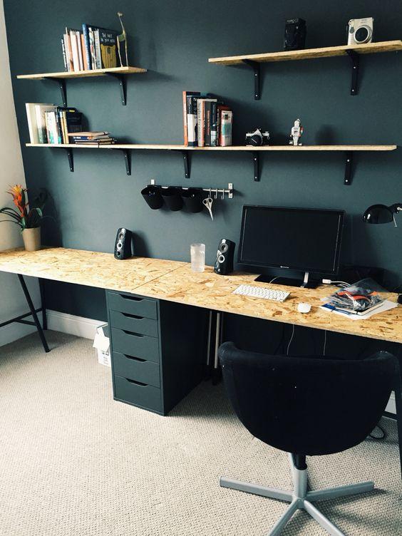 Desk Office: L'OSB, Un Matériau Tendance