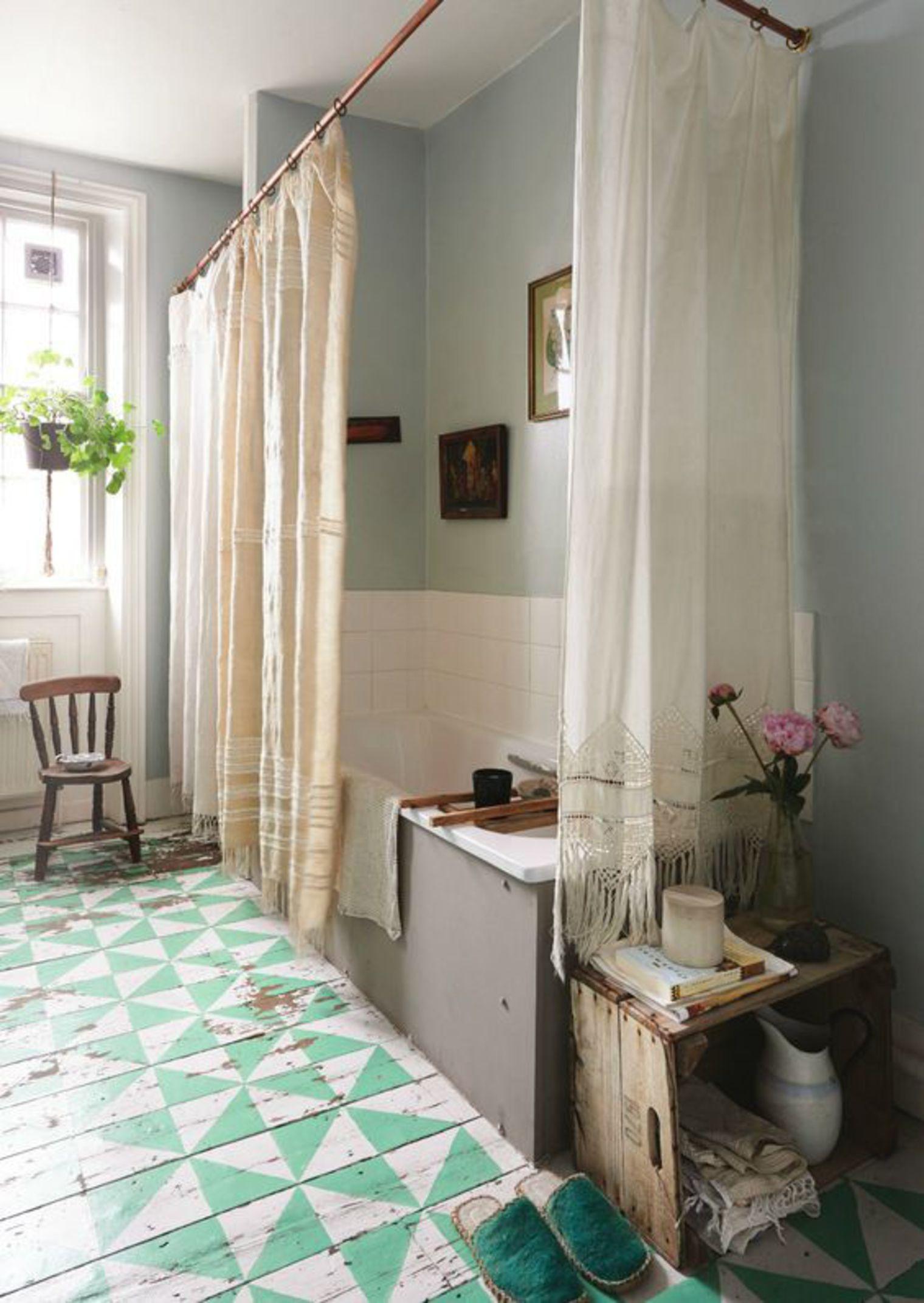 Salle De Bain Revetement 7 revêtements de sol de style pour salle de bains - déco idées