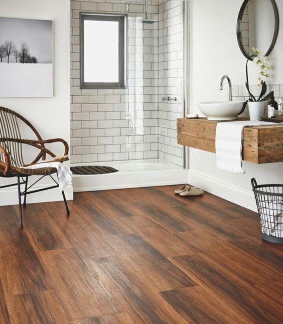 7 rev tements de sol de style pour salle de bains d co id es. Black Bedroom Furniture Sets. Home Design Ideas