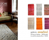 Un pop-up store de tapis berbères anciens