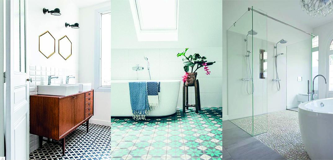 7 Revêtements De Sol De Style Pour Salle De Bains Déco Idées