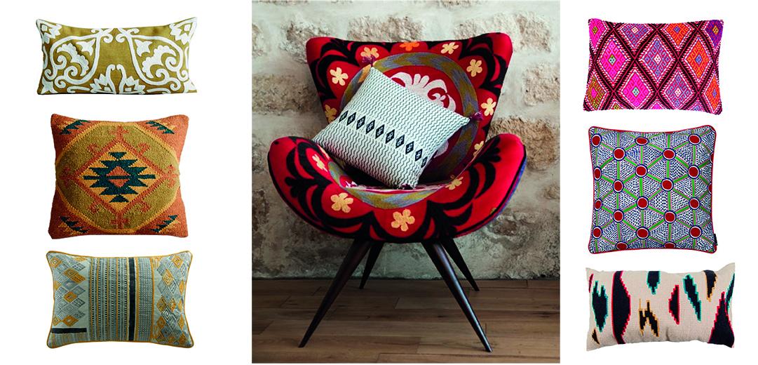 shopping o trouver des coussins de style ethnique d co id es. Black Bedroom Furniture Sets. Home Design Ideas