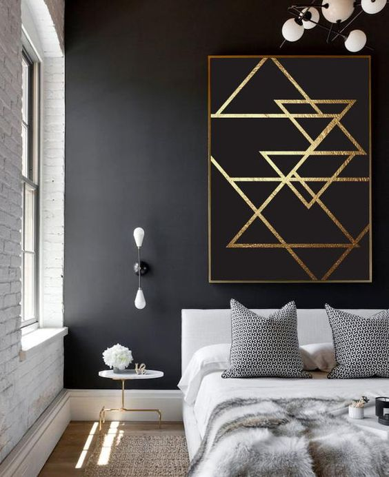 une note de dor dans la d co d co id es. Black Bedroom Furniture Sets. Home Design Ideas