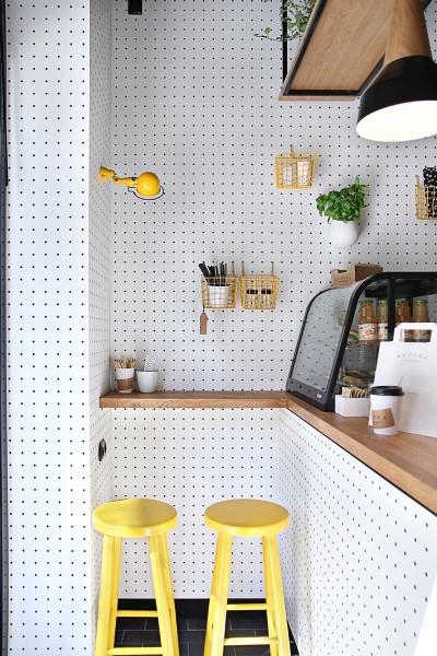 le panneau perfor dans la d co pratique et esth tique d co id es. Black Bedroom Furniture Sets. Home Design Ideas