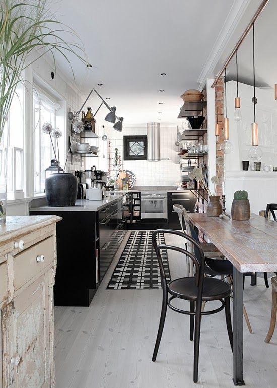 Un tapis dans la cuisine: effet déco garanti! - Déco Idées