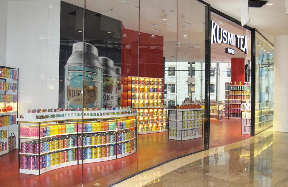 Kusmi Tea ouvre sa première boutique en Belgique