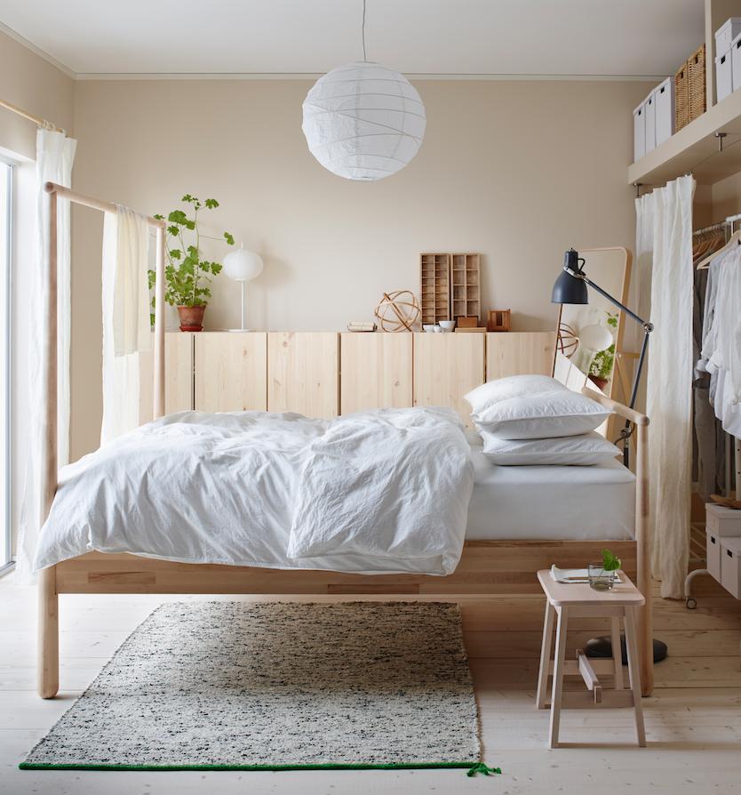 Une belle chambre pour bien cocooner d co id es for Set de chambre ikea