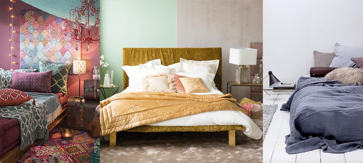 une belle chambre pour bien cocooner d co id es. Black Bedroom Furniture Sets. Home Design Ideas