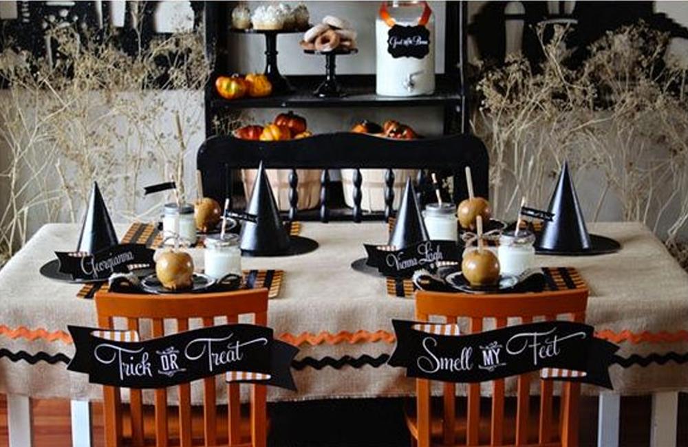 Halloween 5 d corations de table mortelles d co id es for Decoration de table pour halloween