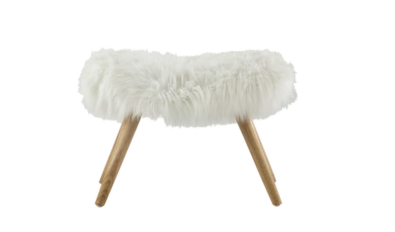 Une peau de mouton pour r chauffer notre int rieur d co id es - Peau de mouton maison du monde ...