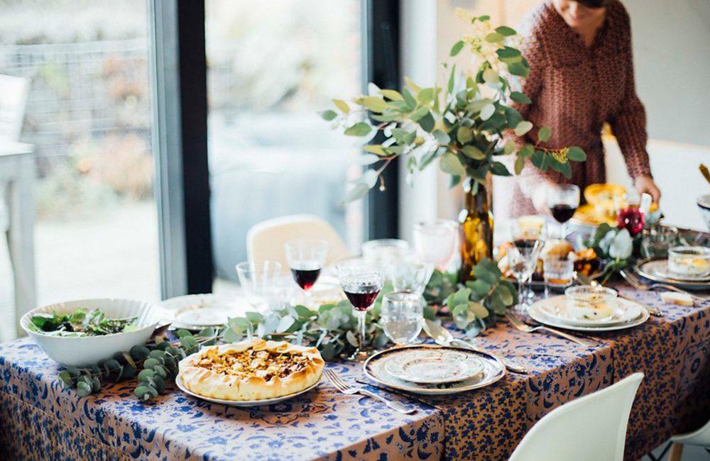 La table de fête automnale de Fouettmagic