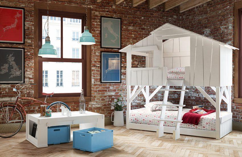 Qui n'a jamais rêvé d'une cabane perchée pour dormir ? Designer : François Lamazerolles