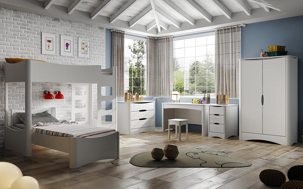 Mathy By Bols propose aussi des chambres plus classiques pour les plus grands. Chambre Fusion : Designer David Enthoven, Prix Innovation Salon du meuble de Bruxelles 2013.