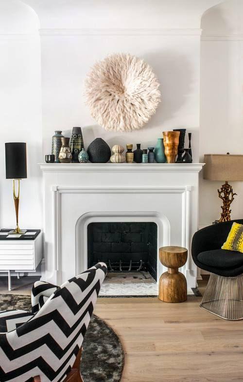 White Vases Decor Ideas Living Rooms