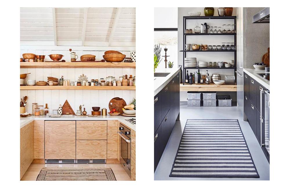 Pinterest Des Rangements Ouverts Dans La Cuisine Deco Idees