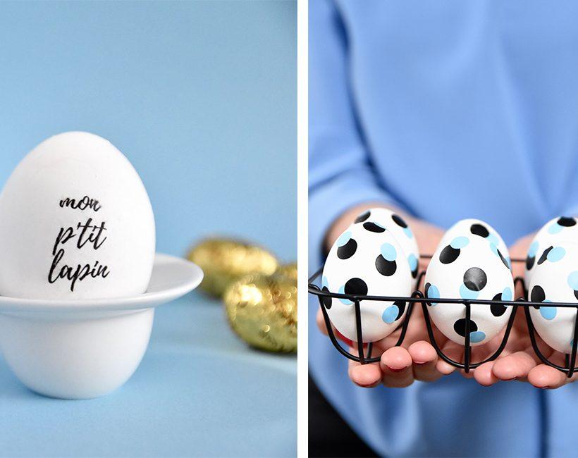 DIY : customisez vos oeufs de Pâques !