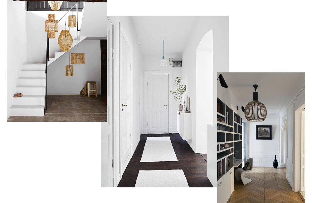 Pinterest 11 id es pour d corer un couloir d co id es for Amenager couloir long